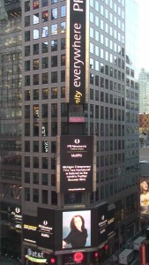 PR Newswire Profnet Success Story November 2015 - Times Square, New York City, USA